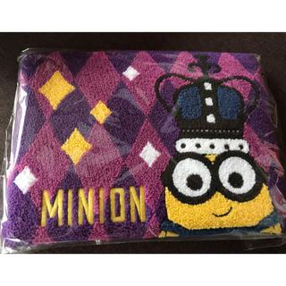 ミニオン(ミニオン)の新品 未使用 ミニオンズ さがら織りショルダーバッグ(キャラクターグッズ)