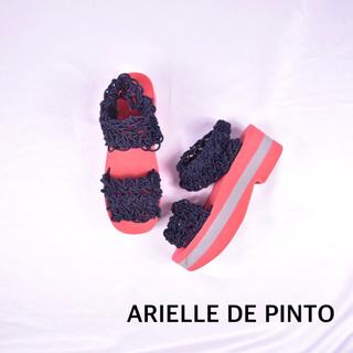 希少カラー arielle de pinto アリエルデピント 厚底 サンダル(サンダル)