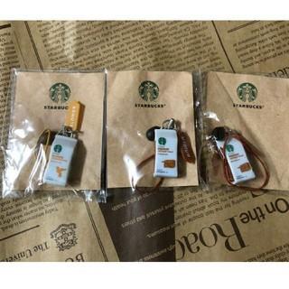 スターバックスコーヒー(Starbucks Coffee)の新品 スターバックス ストラップ 3ケ  MEDIUM 2ケ BLONDE 1ケ(ノベルティグッズ)