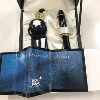 モンブラン(MONTBLANC)のMont Blanc万年筆セット(インク付新品)(ペン/マーカー)