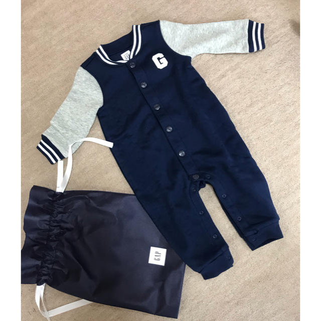 babyGAP(ベビーギャップ)のGAP ロンパース 70 キッズ/ベビー/マタニティのベビー服(~85cm)(ロンパース)の商品写真