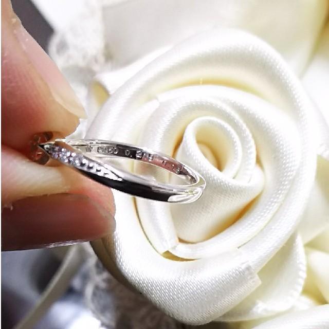 ☆WISH UPON A STAR/ Pt950ダイヤリング 5号 美品 レディースのアクセサリー(リング(指輪))の商品写真