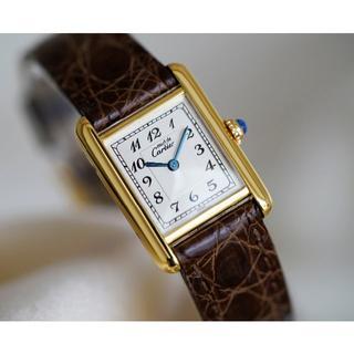 Cartier - 美品 カルティエ マスト タンク アラビアインデックス SM Cartier