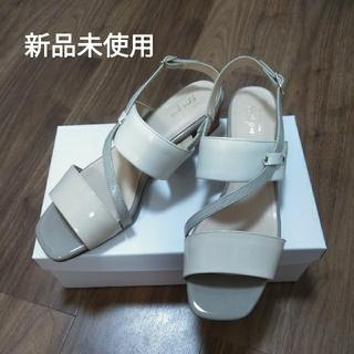 バークレー(BARCLAY)のバークレー サンダル 24.5 EEE 新品(ローファー/革靴)