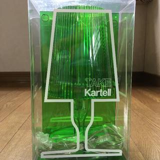 カルテル(kartell)の新品!Kartell カルテル TAKE テイクランプ グリーン(テーブルスタンド)