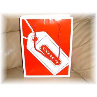 COACH - COACH 紙袋 コーチ紙袋 小★縦25.5㎝×横20㎝ 奥行10.5㎝