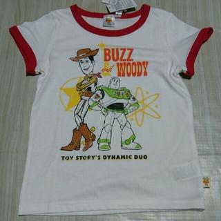 トイストーリー(トイ・ストーリー)のトイ・ストーリー4 Tシャツ ボーイズ  サイズ 130  ウッディ バズ(Tシャツ/カットソー)