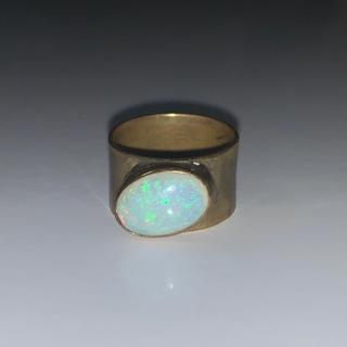 shushujojo ホワイトオパールリング(リング(指輪))