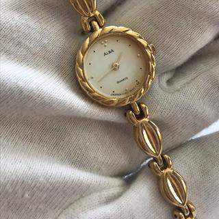 アルバ(ALBA)のセイコー ALBA アルバ レディース  ゴールド Y150-0A30(腕時計)
