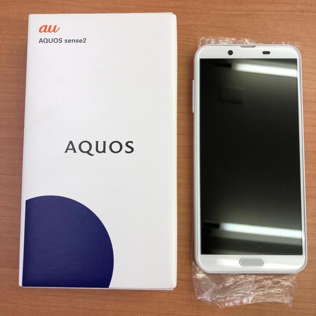 SHARP(シャープ)のAQUOS sense2 SHV43 スマホ/家電/カメラのスマートフォン/携帯電話(スマートフォン本体)の商品写真
