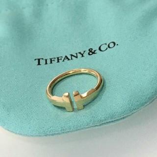 Tiffany & Co. - 12号美品ティファニーT ワイヤーリング