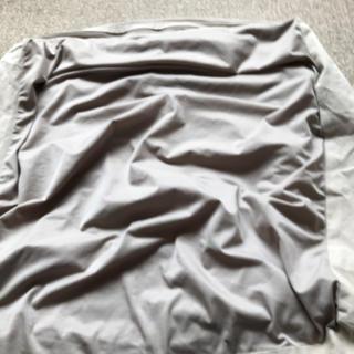 ムジルシリョウヒン(MUJI (無印良品))の無印良品 ビーズクッションカバー(ソファカバー)