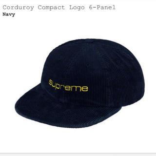 シュプリーム(Supreme)のSupreme corduroy compact logo 6-panel(キャップ)