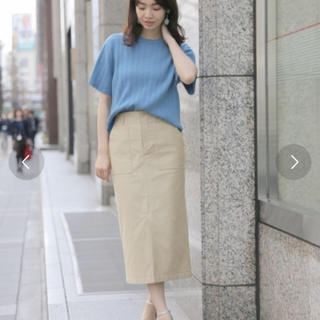 apart by lowrys - 再出品 otonaMUSE掲載 ワイドリブTシャツ