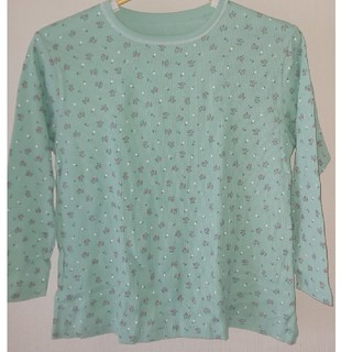 シマムラ(しまむら)のトップス 140 花柄 八分袖(Tシャツ/カットソー)