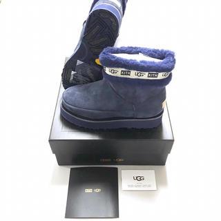 正規品 KITH × UGG シェルミッドクラシックブーツ ネイビー(ブーツ)