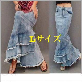 DESIGUAL - ❤️大きいサイズ❤️新品デニムマーメイドスカート