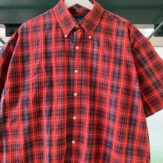 Ralph Lauren - 90s Ralph Lauren チェックシャツ ビッグシルエット アメリカ製