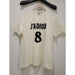 Dior - 【 Dior ディオール 】J'ADIOR 8ロゴ コットン&リネンTシャツ