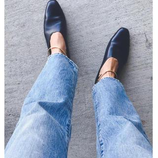 Jil Sander - 二回のみ着用 超美品♪ 100%正規品 リングシューズネイビー