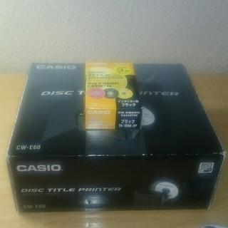 CASIO - CASIO CW-E60 ディスクタイトルプリンター TR-18BK-3P