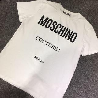MOSCHINO - MOSCHINO Tシャツ 男女兼用