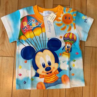 Disney - タグ付新品未使用❗️ Tシャツ ディズニーDisney ミッキーマウス 80cm
