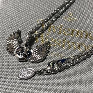 Vivienne Westwood - 即購入OK 翼 シルバーカラーネックレス