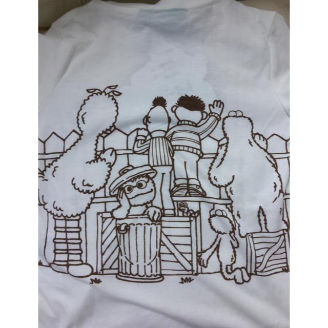 SESAME STREET(セサミストリート)のセサミストリート キッズTシャツ キッズ/ベビー/マタニティのキッズ服 男の子用(90cm~)(Tシャツ/カットソー)の商品写真