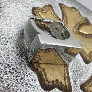 クロムハーツ(Chrome Hearts)のレア クロムハーツ バーフレアニー リング 14号 人気サイズ sv925(リング(指輪))