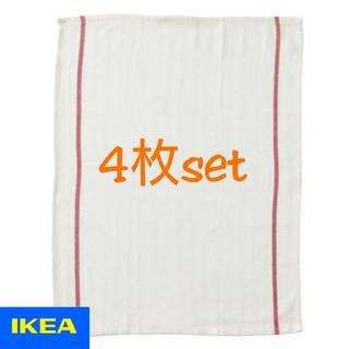 イケア(IKEA)のTEKLA キッチンクロス 4枚セット(テーブル用品)