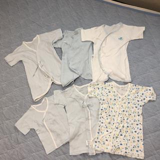 西松屋 - 新生児肌着6枚セット