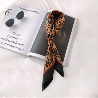 dholic - ☺︎完売商品☺︎ レオパード  スカーフ チョーカー