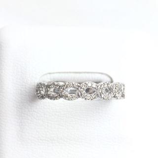 K18WG ダイヤモンド リング 20号 新品仕上げ済み ホワイトゴールド(リング(指輪))