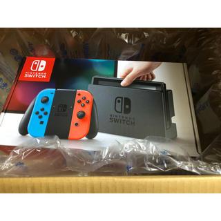ニンテンドースイッチ(Nintendo Switch)の任天堂スイッチ 本体 コード付き 未開封(携帯用ゲーム本体)
