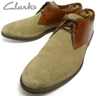 クラークス(Clarks)のClarks クラークスコンビレザー チャッカブーツ/デザートブーツ28.5cm(ブーツ)
