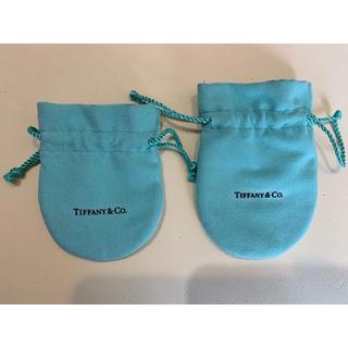 ティファニー(Tiffany & Co.)のTIFFANY&Co. *ティファニー*水色*ミニ巾着*アクセサリー入れ*巾着(その他)