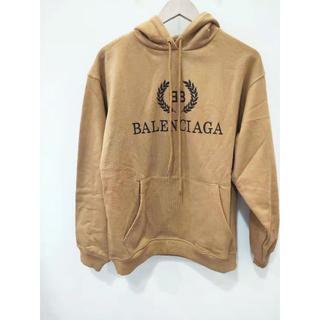 バレンシアガ(Balenciaga)のBALENCIAGA ロゴ BB プリント プル パーカー XS(パーカー)