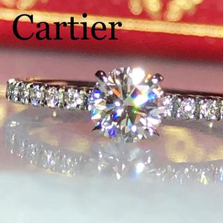 Cartier - カルティエ 0.30ct 3EX エタンセル ドゥ ダイヤモンド リング 鑑定書