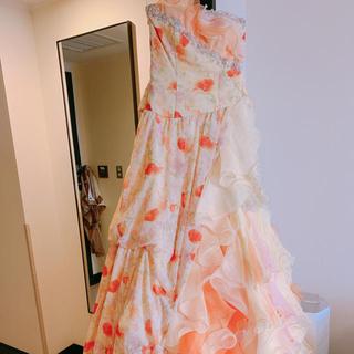 イエローカラードレス(ウェディングドレス)