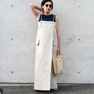 BEAUTY&YOUTH UNITED ARROWS - &herエプロンワンピース