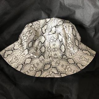 Supreme - 新品 帽子 パイソン柄 バケットハット ヘビ スネイク スネーク アニマル