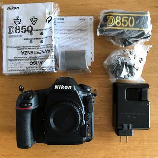Nikon - 美品 NIKON D850 ボディ ニコン 一眼レフ