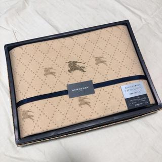 バーバリー(BURBERRY)のバーバリーロンドン コットンシーツ ブランケット 新品(シーツ/カバー)