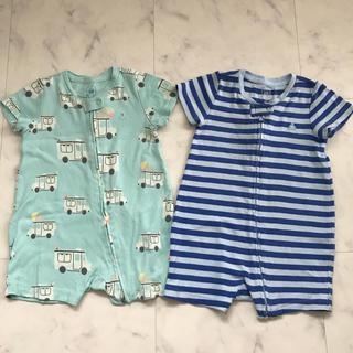 babyGAP - baby GAP 半袖カバーオール 二枚セット