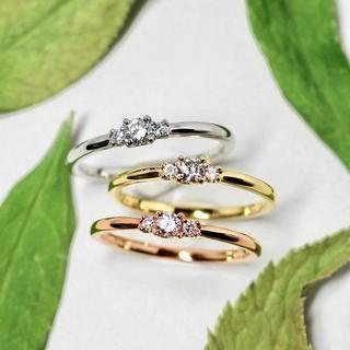 トクトク メイジュエリー ピンクゴールド ダイヤモンド リング(リング(指輪))