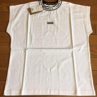 ヴァンズ(VANS)のvans カットソー レディース 白 S(Tシャツ(半袖/袖なし))
