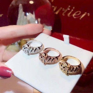 カルティエ(Cartier)のCartier カルティエ レディース ヒョウ リング(リング(指輪))