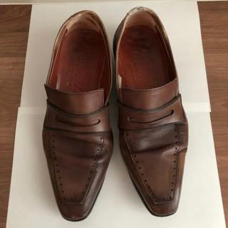 ユナイテッドアローズ(UNITED ARROWS)の革靴 ブラウン ビジネスシューズ pertini(ドレス/ビジネス)