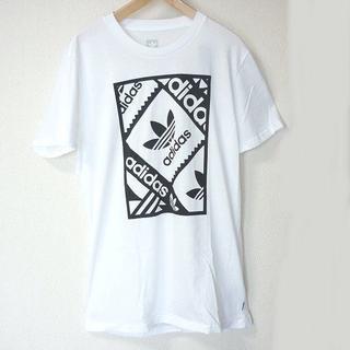 adidas - 新品◆(2XO)adidasoriginals白トレフォイルスタンプロゴTシャツ